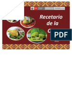 RECETARIO DE LA QUÍNUA