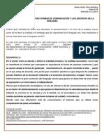LA ORALIDAD ENTRE OTRAS FORMAS DE COMUNICACIÓN Y LOS ARCHIVOS DE LA ORALIDAD