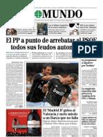 El Mundo 24 de Abril 2011