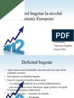 Deficitul Bugetar La Nivelul Uniunii Europene