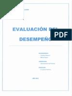 EVALUACION DEL DESEMPEÑO Carolina Chavez y Marisol Opazo