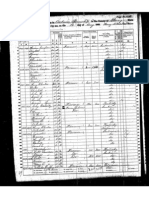 Henry Rhodes, 1860 Census, Perry County, Indiana