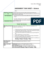 final states of matter lab assessment packet 2012-2013 -