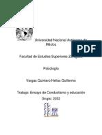 ensayo de conductismo y educacion.docx