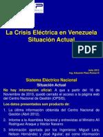 La Crisis Electric a en Venezuela Julio 2012