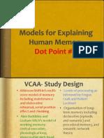 models of memory