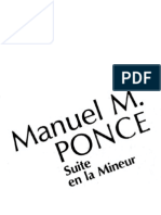 Suite en La Menor - M. M. Ponce