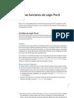 Nuevas Funciones de Logic Pro 8