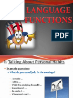 Language Functions 2