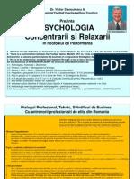 Psychologia Concentrarii Si Relaxarii in Fotbalul de Performanta