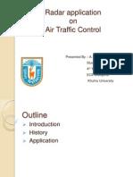 Radar Application on Air  Traffic Control