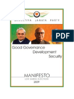 B J P Election Manifesto English