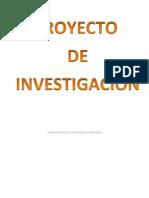 Anteproyecto de Investigacion