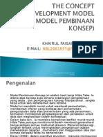 The Concept Development Model