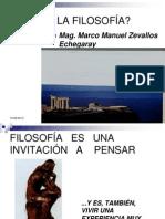 QUÉ ES LA FILOSOFÍA 1 (I)