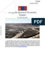 Mongolia Economic Report_October 2012