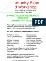 Community Expo and Workshop