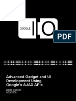 Advanced Gadget and UI Development Using Google's AJAX APIs