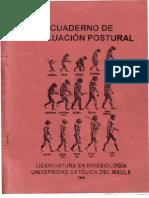 Cuaderno Evaluacion Postural
