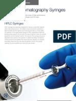 Syringe for Manual HPLC - Hamilton