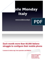 2008-10-13 Each month more Than 60.000 Italians struggle to Configure their mobile phone - Wouter Deelman - Qelp