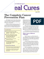 The Complete Cancer Prevention Plan