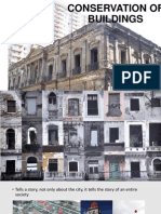 Conservation of Historical Buildings