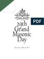 Grand Masonic Day 29