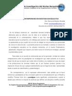 Meralda Garcia de Medina, Investigacion - Complejidad