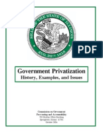 2006Gov Privatization Rprt