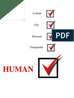 Print Advertisment Check Marks LGBT