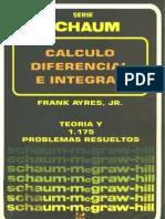 Calculo Diferencial e Integral - Serie Schaun
