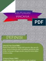KEUTUHAN WACANA