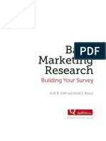 Basic Marketing Research Vol 2