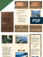 Travel brochure for Rio de Janeiro