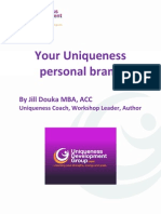 Your Uniqueness Personal Brand