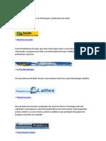 sites úteis para acadêmicos de enfermagem e profissionais da saúde