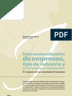 Internacionalizacion de La Industria Peruana