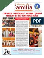 El Amigo de La Familia 19 Mayo 2013