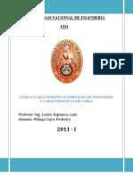 CURVAS CARACTERISTICAS PARCIALES DE VELOCIDAD Y CARACTERISTICAS DE CARGA