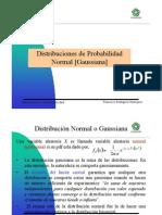 Probabilidad Normal o de Gauss