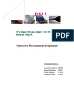 Operations of DELL