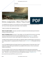 Divine Judgments_—Were They Cruel_