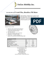 Datasheet Motor NGM - 340-000007 Rev D NuGen SCM150_MSV260160
