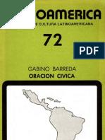 Gabino Barreda - Oración cívica