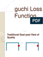 Taguchi Loss Function 2013-5-16