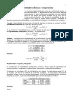 Sesión-10 Probabilidad Condicional e Independiente