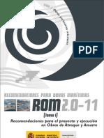 ROM 2.0-11 Recomendaciones Proyecto y Ejecucion Obras de Atraque y Amarre
