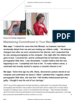 Maintaining Commitment in Marriage _ Family Happiness