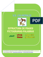 Fichas Estructura Frases Vive Tiene Animales